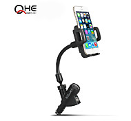 Universal Flexible Standard Two USB Ports Goose Neck Wireless Charger Car Phone Holder