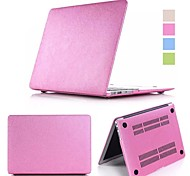2 in 1 Candy Colors Soft Touch ABS+Plastic Luxury Smooth Silk Skin Case Cover for Macbook Air 13'' (Assorted Color)