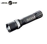 Drive-Travel®3 Mode 210 Lumens LED Flashlights Adjustable Focus/Rechargeable/Emergency/Small Size/Night Vision LED