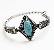 HUALUO®Bohemia Multilayer Woven Turquoise Bracelet