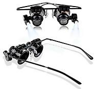 20x lupe Augen-Glas-Lupe Linse Juwelier-Uhr-Reparatur-Werkzeug