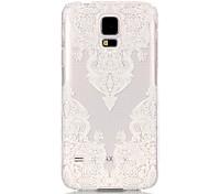 Serration Pattern Transparent PC Material Phone Case for Samsung GALAXY S6 /S6 edge/S5/S3Mini/S4Mini/S5Mini