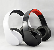 plegables auriculares tarjeta fm auriculares de radio tf alta calidad inalámbricas v3.0 bluetooth para pc smartphone de reproductor de mp3
