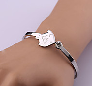 Classic Fashion Fish Stainless Steel Bracelet
