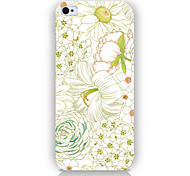 Lotus Pattern Phone Back Case Cover for iPhone5C