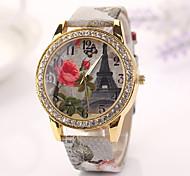 2015 nova moda de quartzo mulheres relógio de bronze relógios de pulso de clock reloj de cupom mujer dropshipping meninas studentx