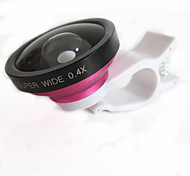 Universal  0.4X Wide Angle and Macro Lens for Cell Phone and Digital Cameras (Assorted Color)