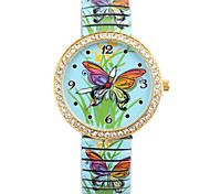 Ladies' Watch Fashion Butterfly Elastic Quartz Watch