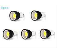 5pcs MORSEN® 7W GU10 500-550LM Support Dimmable Led Cob Spot Light Lamp Bulb