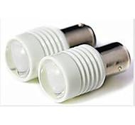 2 Stück Lichtdekoration 1157 6 W 300 LM 9000-10000K K 6 SMD 7020 Kühles Weiß DC 24 V