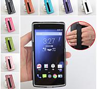 cuir flip étui de protection magnétique pour OnePlus un (couleurs assorties)