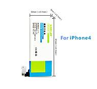 DE JI 1430mAh Replacement Battery for IPhone 4