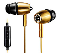 Mykimo MK500 Wire Earphone/in-ear Headphone Metal Multipurpose for iPhone/other phone pad/computer