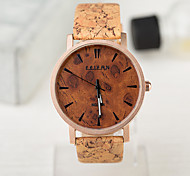 Unisex Watches European Style Vintage Wood Watch Waterproof Case Men And Women Watch