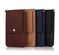 bag duplo bolsos mosquetão para Samsung Galaxy S6 / S5 / s6edge / S4 / s3mini / s3 / s3mini / s4mini / S6 borda + (cores sortidas)