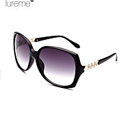 Lureme®Fashion Gradual Change Hollow Out Box Bar Women'S Ultraviolet-Proof Sunglasses