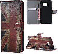 Retro Union Jack Flag PU Leather Full Body Case with Stand and Card Slot for for Samsung Galaxy Note 5