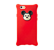 Bone Collection Mickey Silicon Back Cover Case for iPhone 6