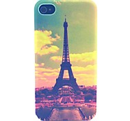 Tower Pattern PC Material Phone Case for iPhone 4/4S