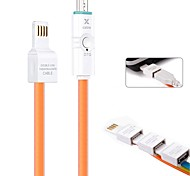 OTG Android System Charging / Data & Sync LED Indicate USB Mutil-function Cable for  Samsung Mobile Phone