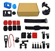 ourspop 14-in-1 kit di accessori gp-K08 per GoPro eroe 4 hero3 + fotocamera hero3