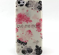Watercolor  Pattern TPU Phone Case for iPhone 5C