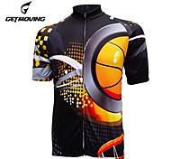 Getmoving Bike/Cycling Jersey / Tops Women's / Men's Short SleeveBreathable / Ultraviolet Resistant / Quick Dry / Back Pocket /