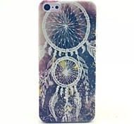 Campanula Pattern PC Material Phone Case for iPhone 5C