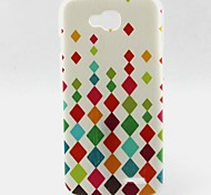 Colorful Diamond Pattern TPU Material Soft Phone Case for LG L90 D405
