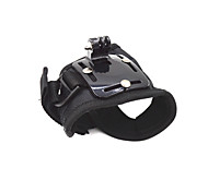 Ourspop GP129L  Creative Glove-style Mount for GoPro Hero 4 3+/3/2/1, Size: L, Dimension: 11cm Width x 45cm Length.