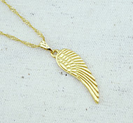 18K Golden Plated Angel Wings Pendant