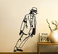Fashion Michael Jackson PVC Wall Sticker Wall Decals