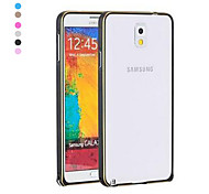 Pajiatu Metal Ultra-thin Mobile Phone Bumper Frame for Samsung Galaxy Note 3 N9000 (Assorted Colors)
