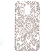 Radiation Flower Pattern Transparent PC Material Phone Case for Samsung GALAXY S6 /S6 edge/S5/S3Mini/S4Mini/S5Mini