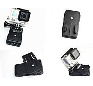 Acessórios GoPro Montagem / Clipe Para Todos ABS preto