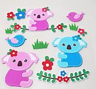 il piccolo panda 3d -11 adesivi