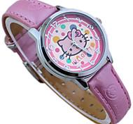 Children's Pink Hello Kitty Cute Cartoon Wrist Watch