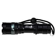 Lanternas LED (Foco Ajustável) - LED 3 Modo 1200 lumens Lumens Cree XM-L T6 - para Campismo / Escursão / Espeleologismo Outros T