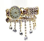 noble à double imitation montre bracelet de perles