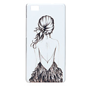 PC Painted Phone Case for Huawei P8