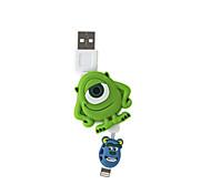 disney mike faltbare Ladekabel für iPhone 5 g / 5s / 5c / 6 / 6plus ipad 2 ipad mini Luft