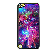 Bright Starry Sky Leather Vein Pattern Hard Case for iPod touch 5