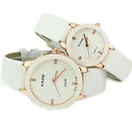 Couple's Casual Dial PU Band Quartz Wrist Watch Cool Watches Unique Watches