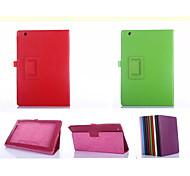 """cuoio dell'unità di elaborazione di colori solidi Custodie con supporto completo dei casi il corpo 10.1 """"per Sony Tablet xperia z4 ultra"""