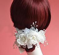 Flashion Charming Wedding Party USA Bride Flower Handmake White Headband Hair Accessories