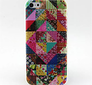 Flowers  Pattern TPU Phone Case for iPhone 5C