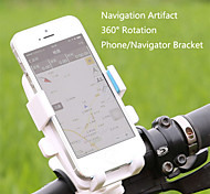 WEST BIKING® 360 Bike Bicycle Mobile Phone Holder Bicycle Phone Holder Rotatably Adjustable Handlebar Clamp Slip