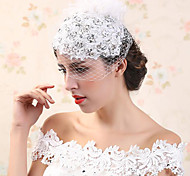 Flashion Charming Wedding Party Bride Flower Handmake White Headband Hair Accessories