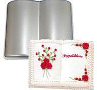 FOUR-C Книга алюминиевый профиль торт выпечки кастрюлю форма, выпечки принадлежности для тортов, выпечки формы для выпечки формы металла