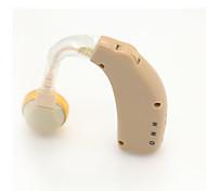 melhor recarregável Acousticon aparelhos auditivos por trás audiphone ouvido amplificador de som tom ajustável adaptador UE